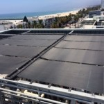 Thermal Solar pool heating system