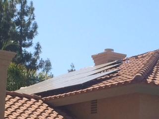 Solar Pannel on house
