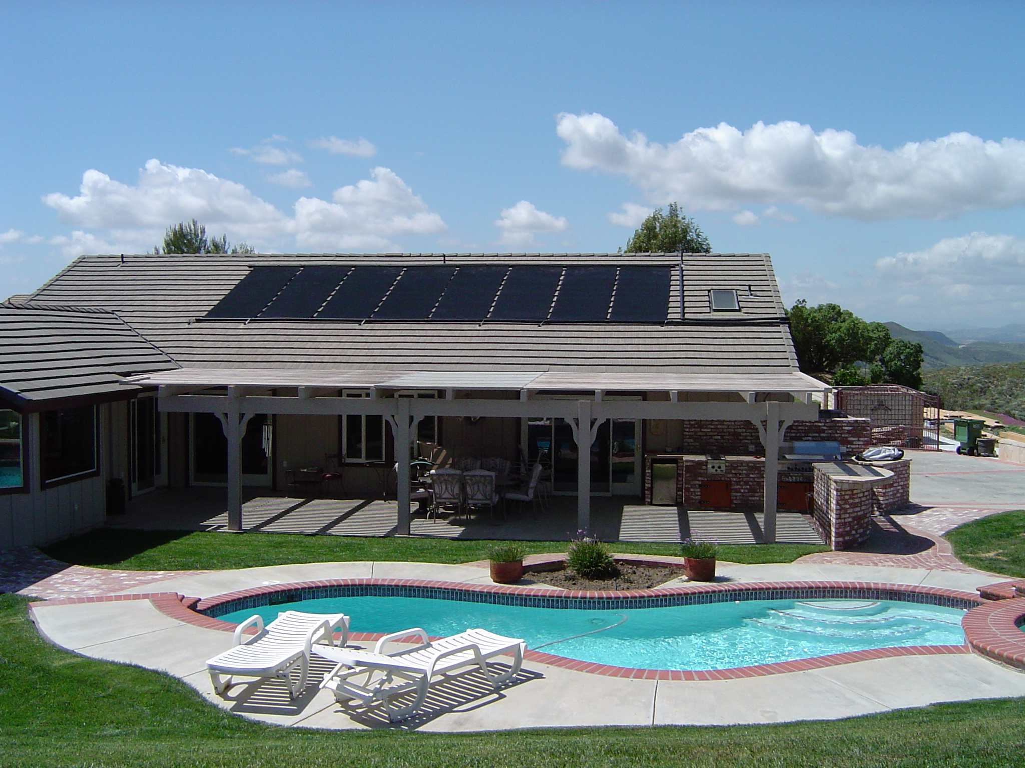 Solar Pool Heating System In Los Angeles Arcadia Ca Home Panels Water Power Unlimited