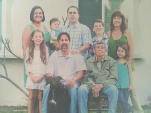 Bob Irwin with his family