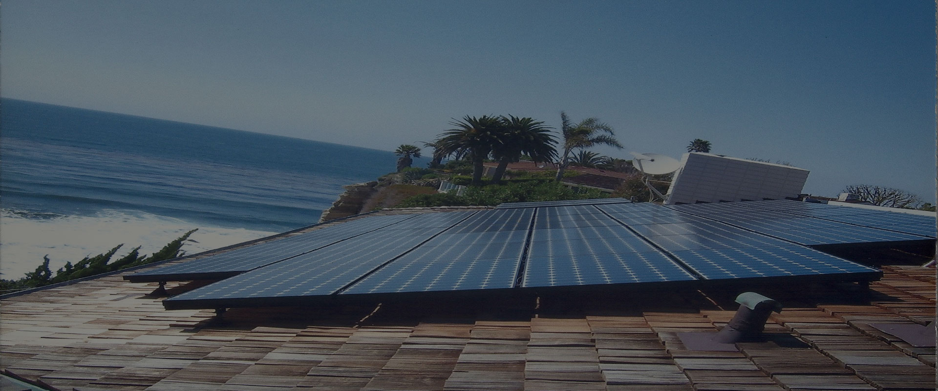 Solar Pannel on a Residental Roof