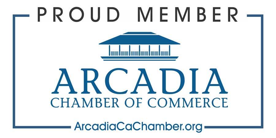 Proud Arcadia Chamber Member Logo